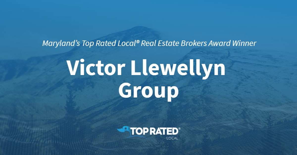 Maryland's Top Rated Local® Real Estate Brokers Award Winner: Victor Llewellyn Group