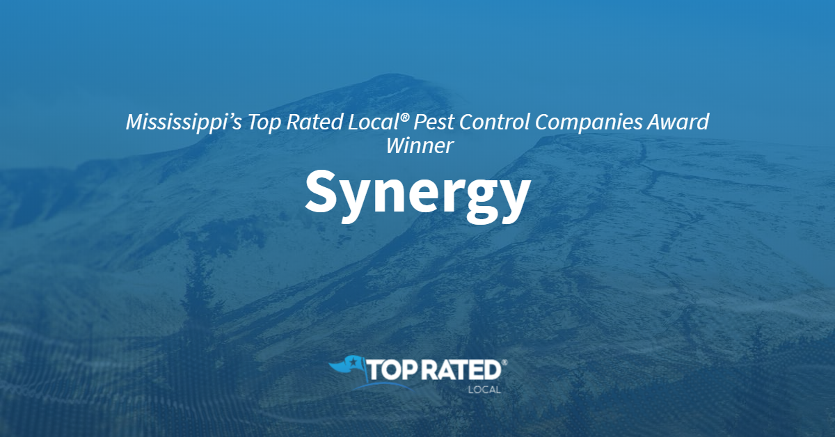 Mississippi's Top Rated Local® Pest Control Companies Award Winner: Synergy