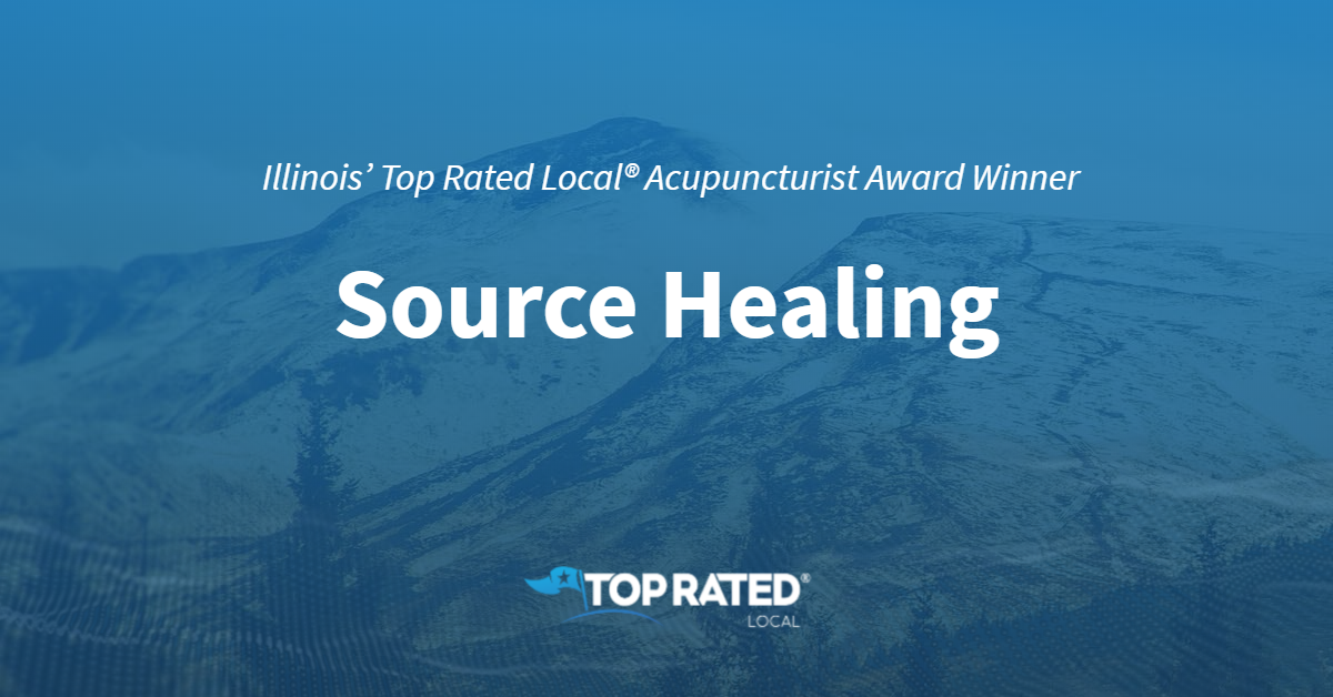 Illinois' Top Rated Local® Acupuncturist Award Winner: Source Healing