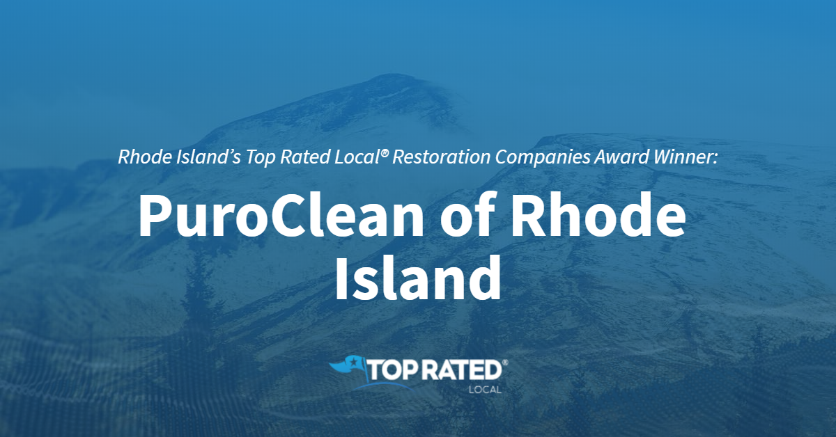 Rhode Island's Top Rated Local® Restoration Companies Award Winner: PuroClean of Rhode Island