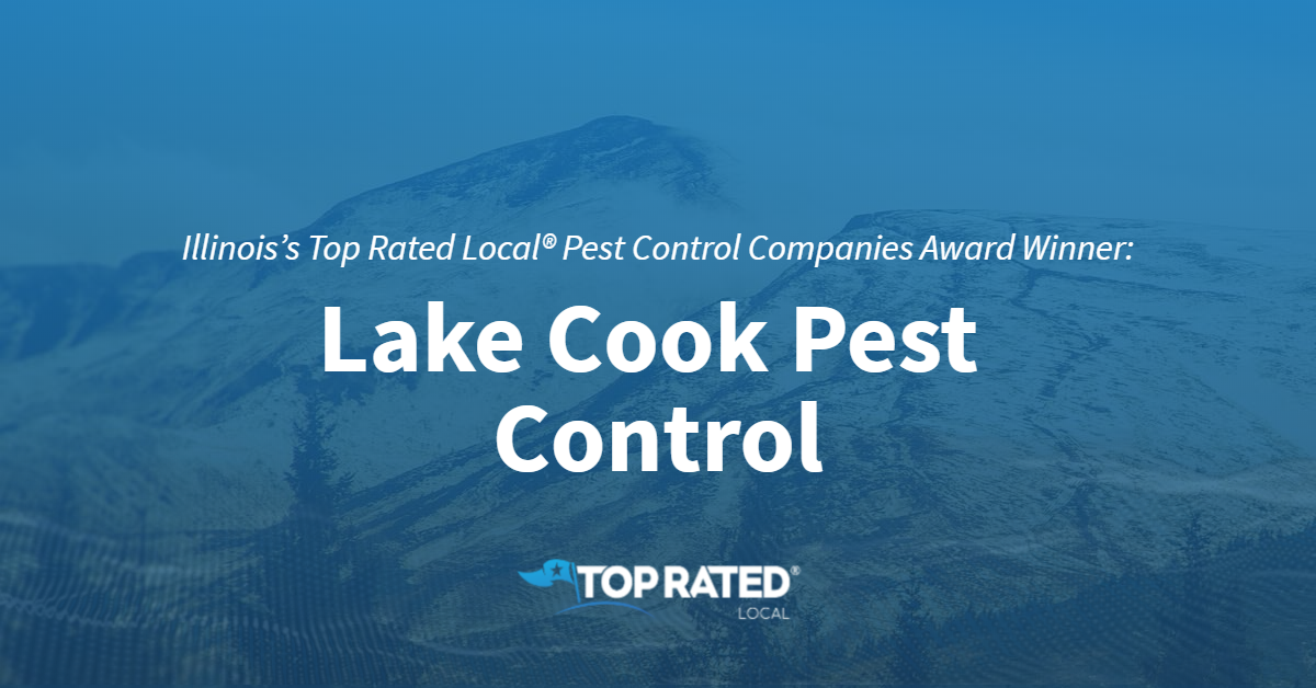 Illinois's Top Rated Local® Pest Control Companies Award Winner: Lake Cook Pest Control