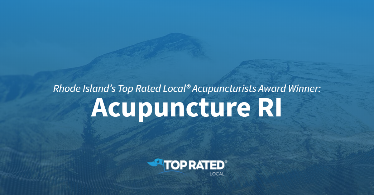 Rhode Island's Top Rated Local® Acupuncturists Award Winner: Acupuncture RI