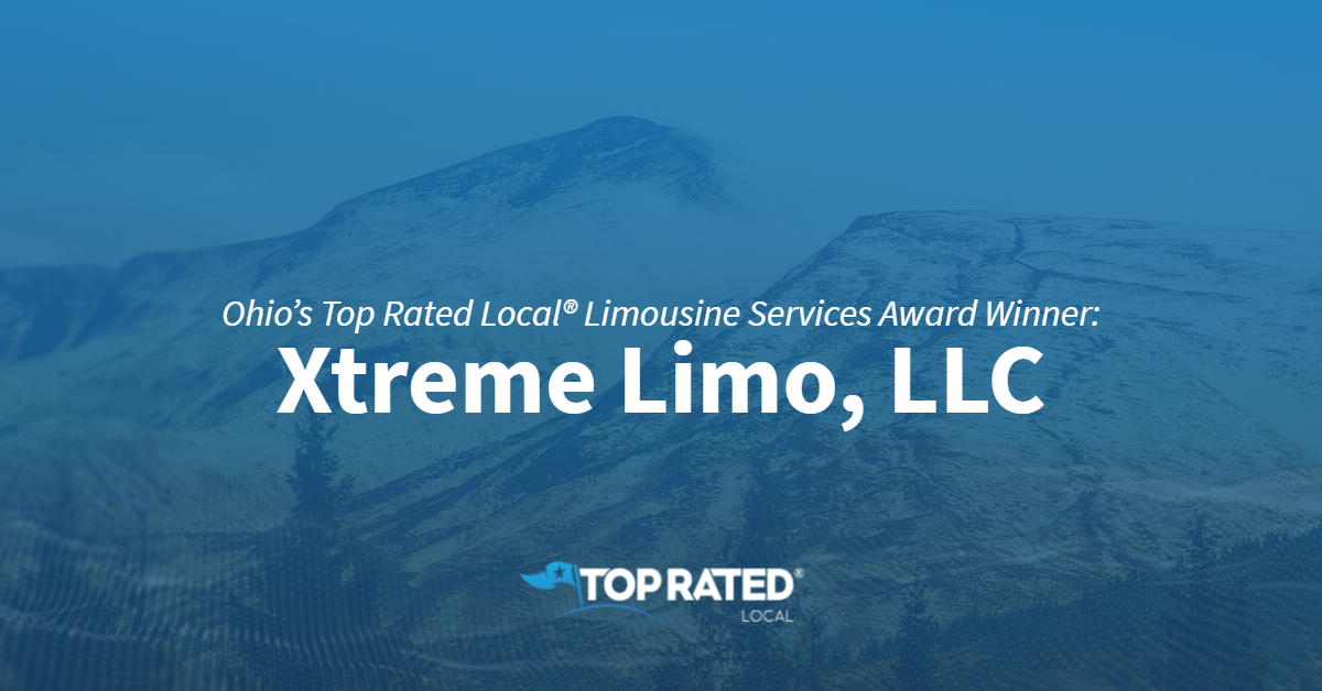 Ohio's Top Rated Local® Limousine Services Award Winner: Xtreme Limo, LLC