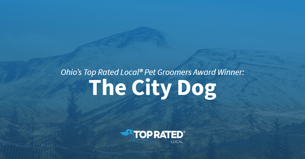Ohio's Top Rated Local® Pet Groomers Award Winner: The City Dog