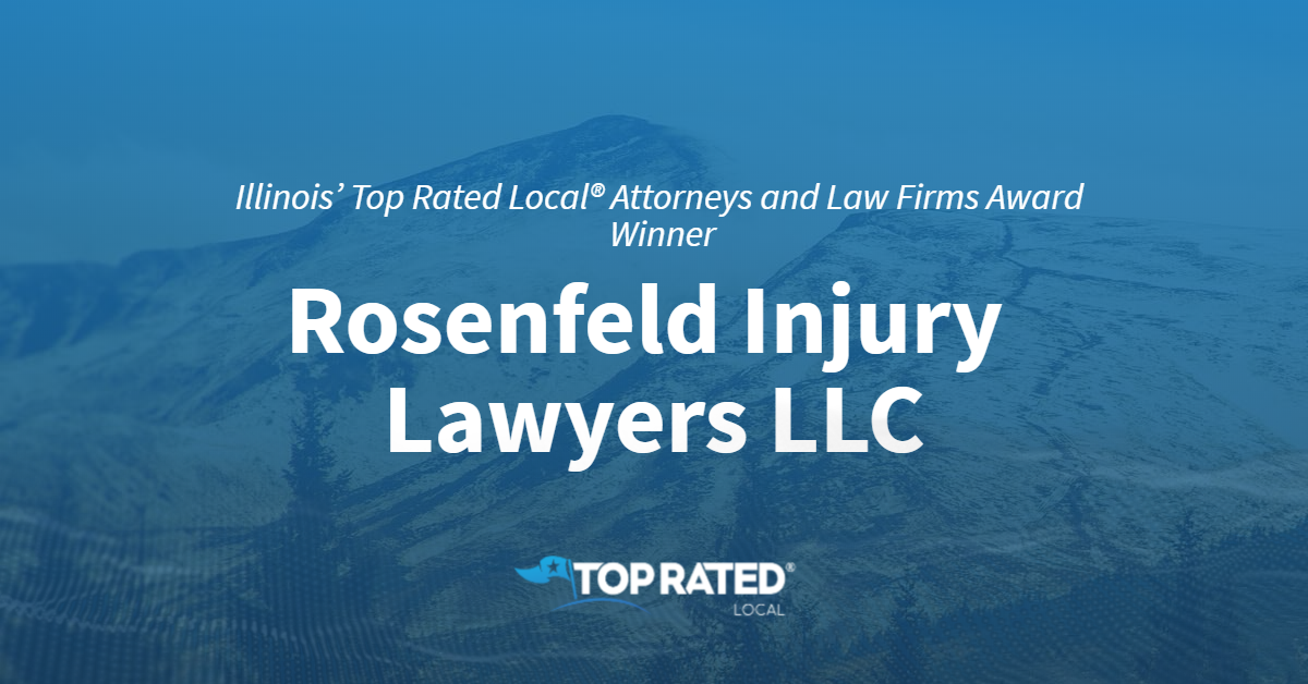 Illinois' Top Rated Local® Attorneys and Law Firms Award Winner: Rosenfeld Injury Lawyers LLC