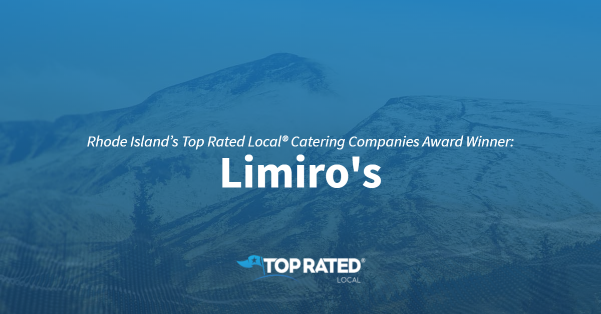 Rhode Island's Top Rated Local® Catering Companies Award Winner: Limiro's