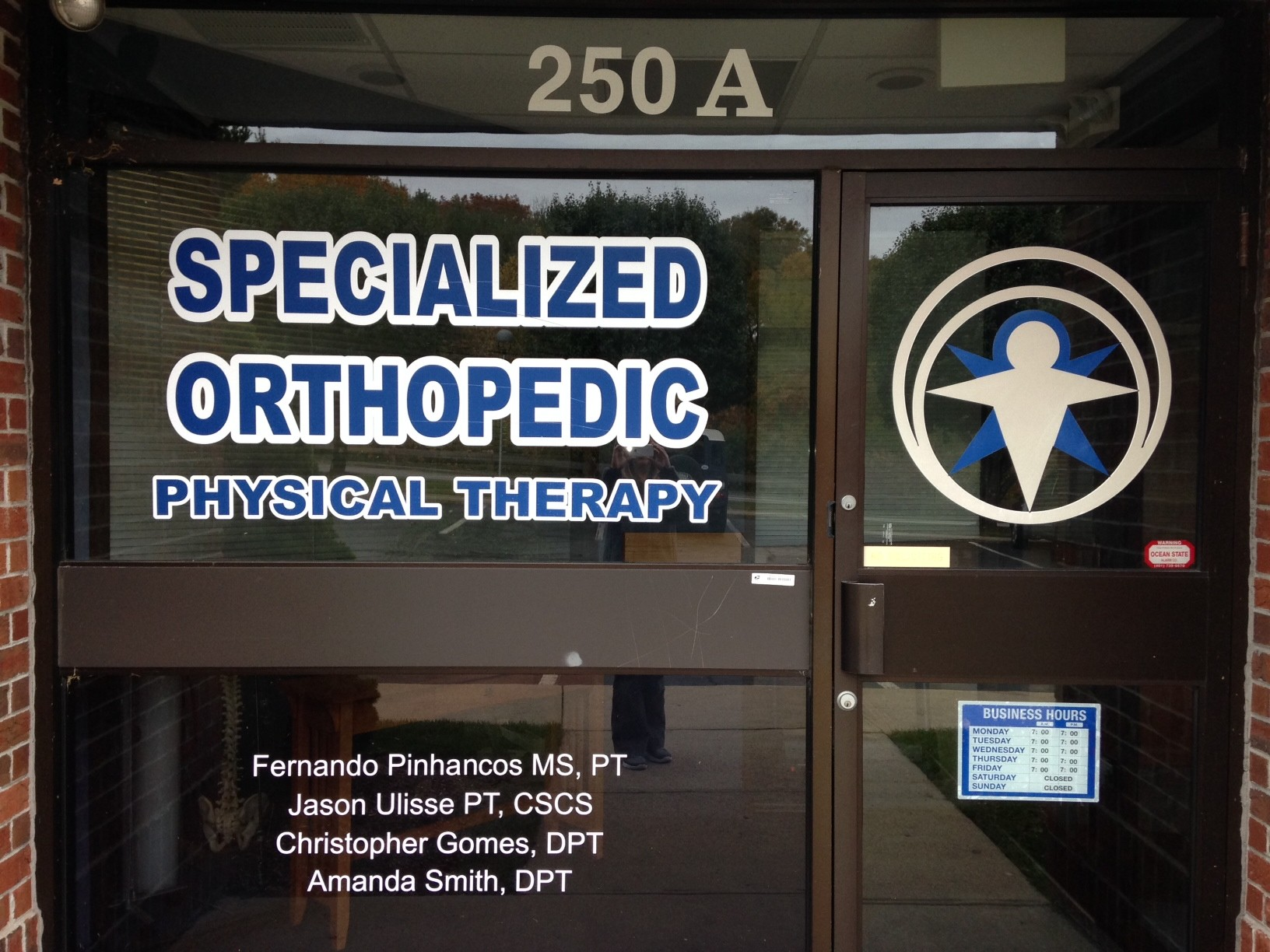 Rhode Island's Top Rated Local® Physical Therapists Award Winner: Specialized Orthopedic Physical Therapy