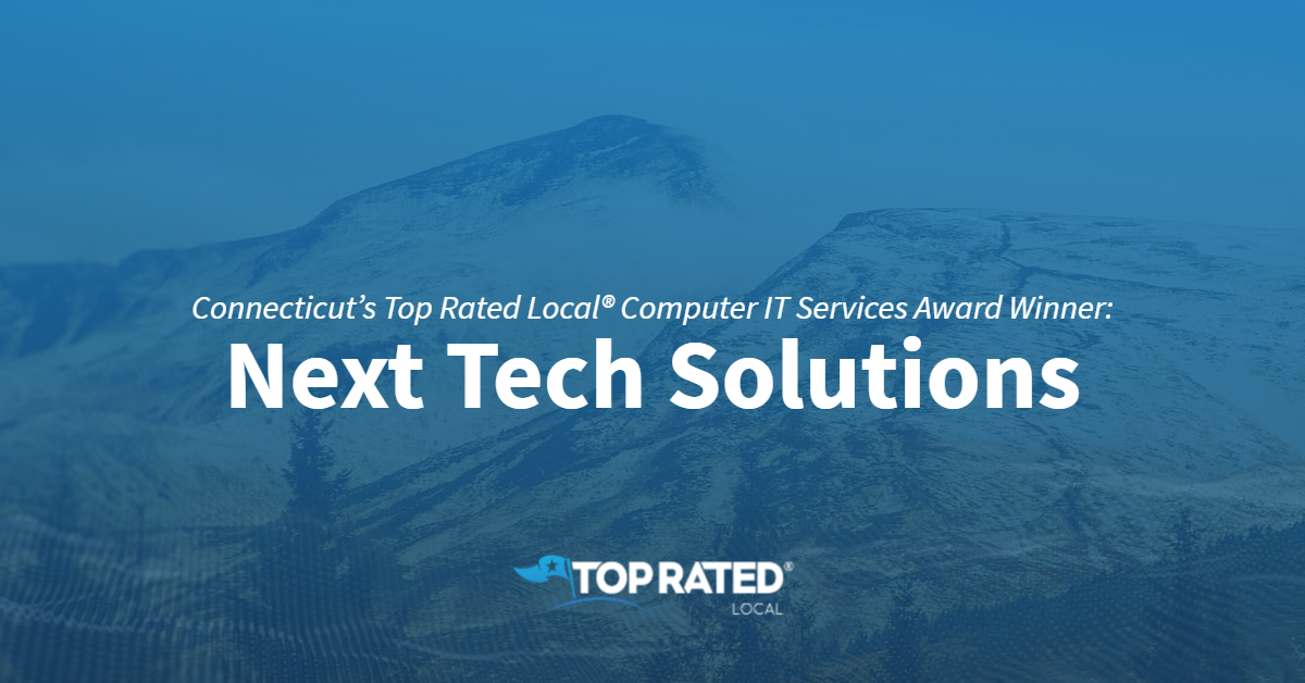 Connecticut's Top Rated Local® Computer IT Services Award Winner: Next Tech Solutions