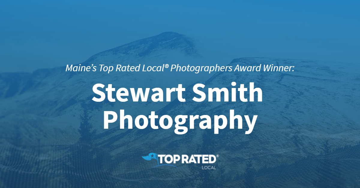 Maine's Top Rated Local® Photographers Award Winner: Stewart Smith Photography