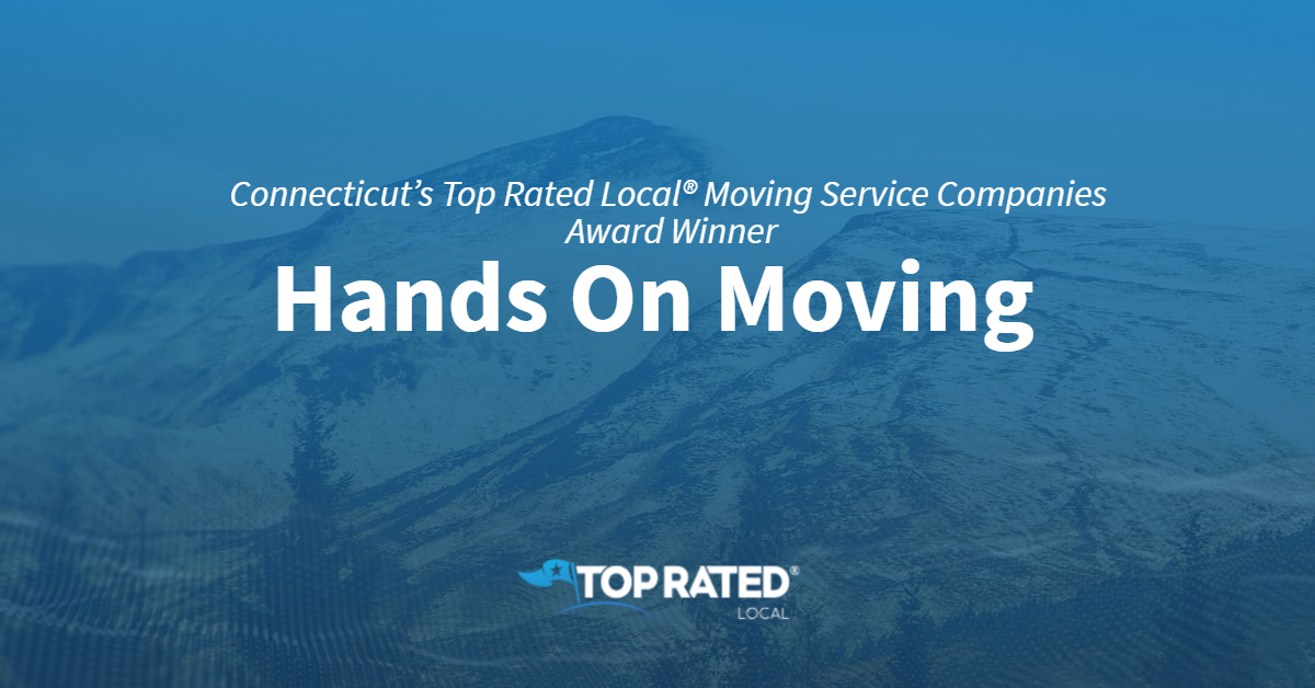 Connecticut's Top Rated Local® Moving Service Companies Award Winner: Hands On Moving