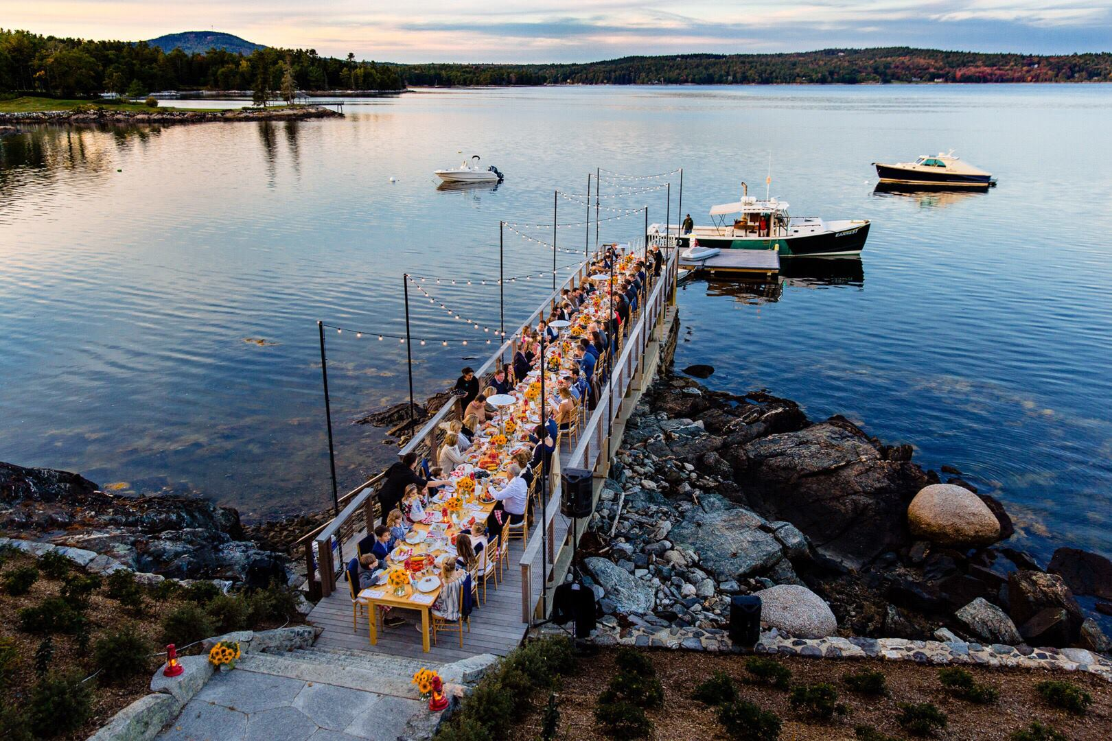 Maine's Top Rated Local® Event Planners Award Winner: R.L. Sisson Events