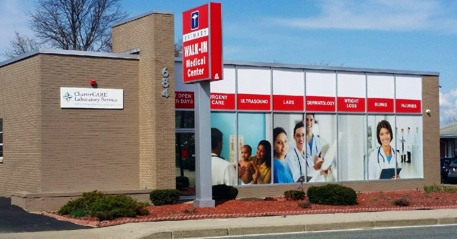 Rhode Island's Top Rated Local® Urgent Care Centers Award Winner: Primary Walk-In Medical Center