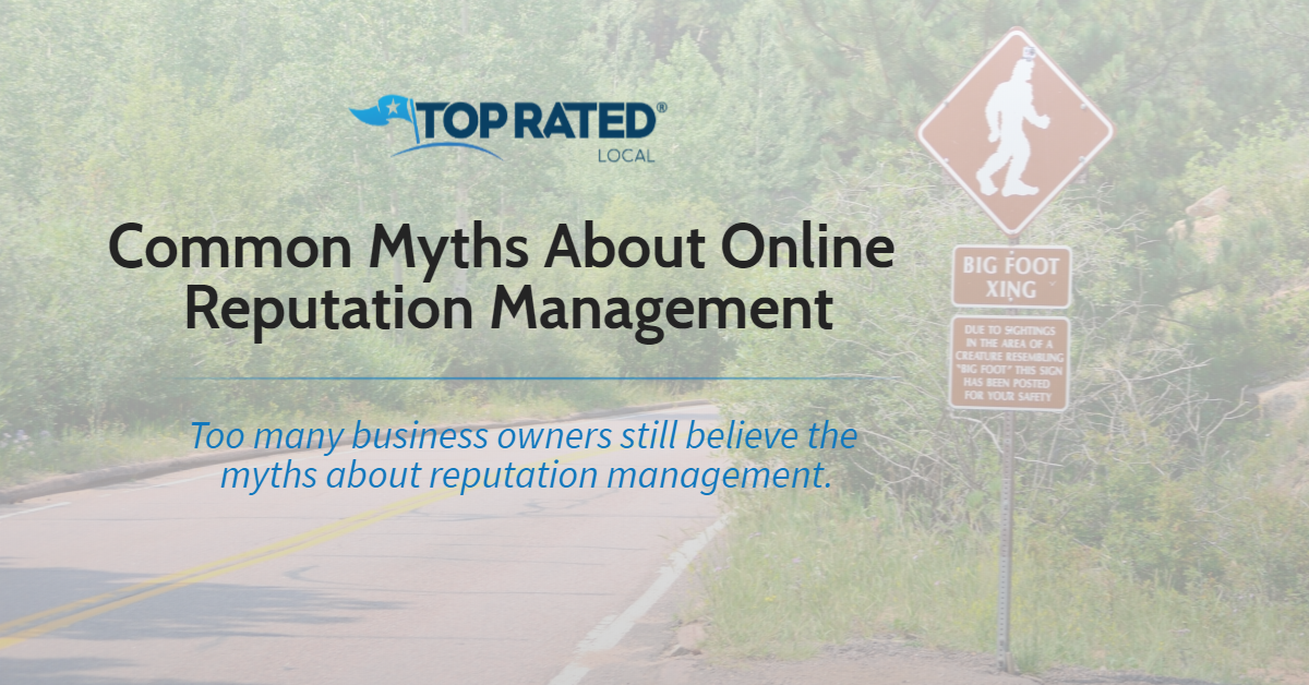 Common Myths About Online Reputation Management