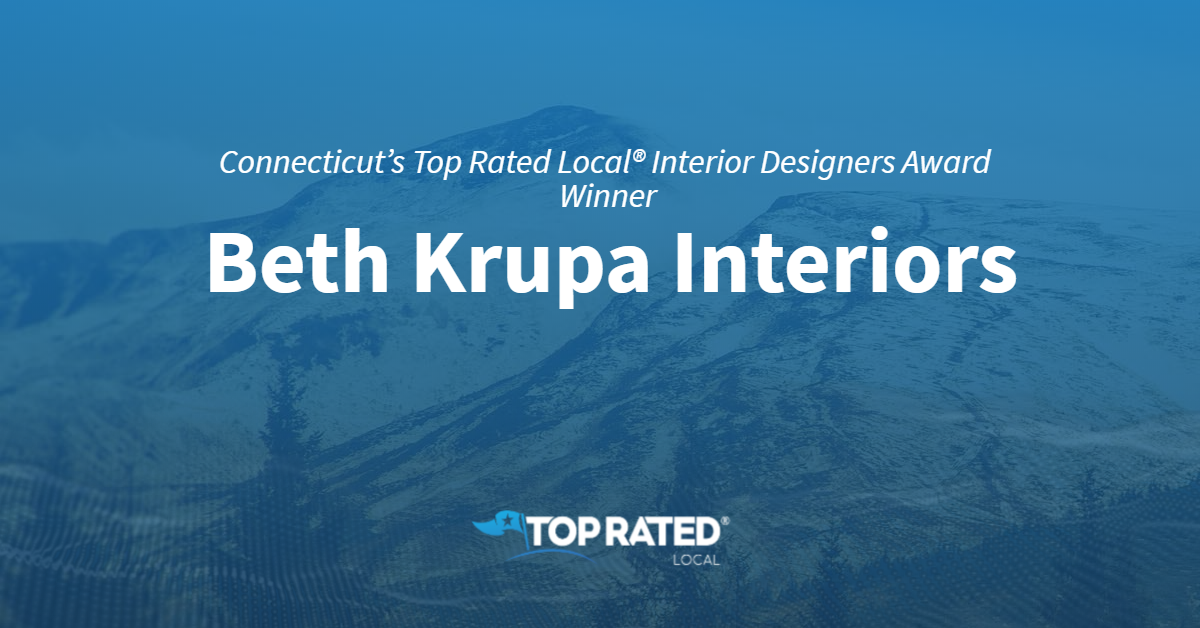Connecticut's Top Rated Local® Interior Designers Award Winner: Beth Krupa Interiors