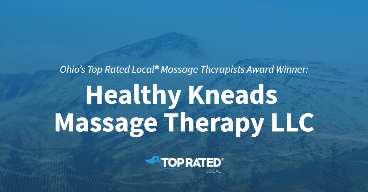 Ohio's Top Rated Local® Massage Therapists Award Winner: Healthy Kneads Massage Therapy LLC
