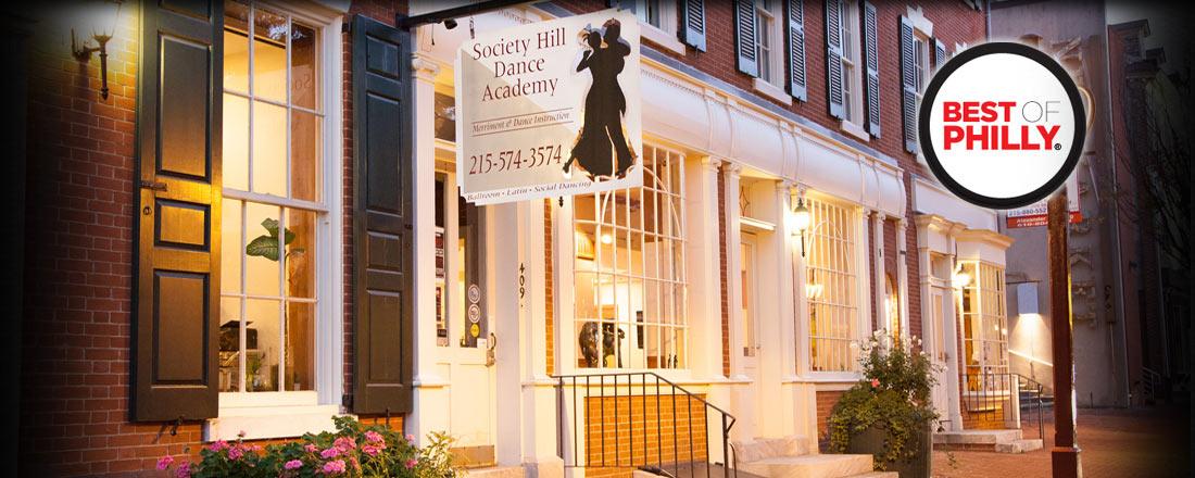 Pennsylvania's Top Rated Local® Dance Schools and Studios Award Winner: Society Hill Dance Academy