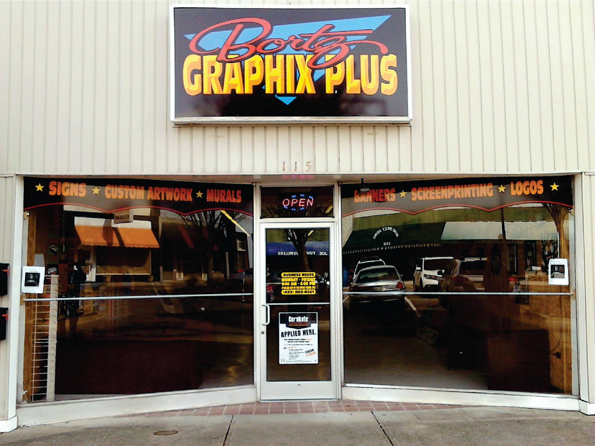 Tennessee's Top Rated Local® Sign Companies Award Winner: Bortz Graphix Plus