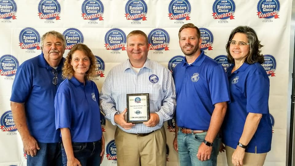 Tennessee's Top Rated Local® Electricians Award Winner: Travis Electrical Service, LLC