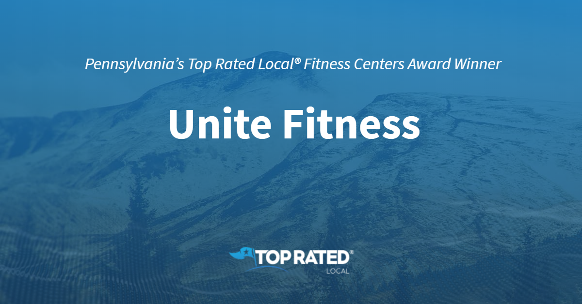 Pennsylvania's Top Rated Local® Fitness Centers Award Winner: Unite Fitness