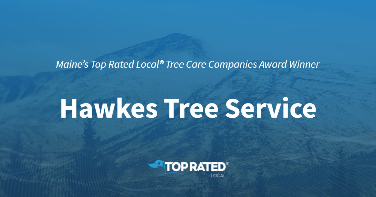 Maine's Top Rated Local® Tree Care Companies Award Winner: Hawkes Tree Service