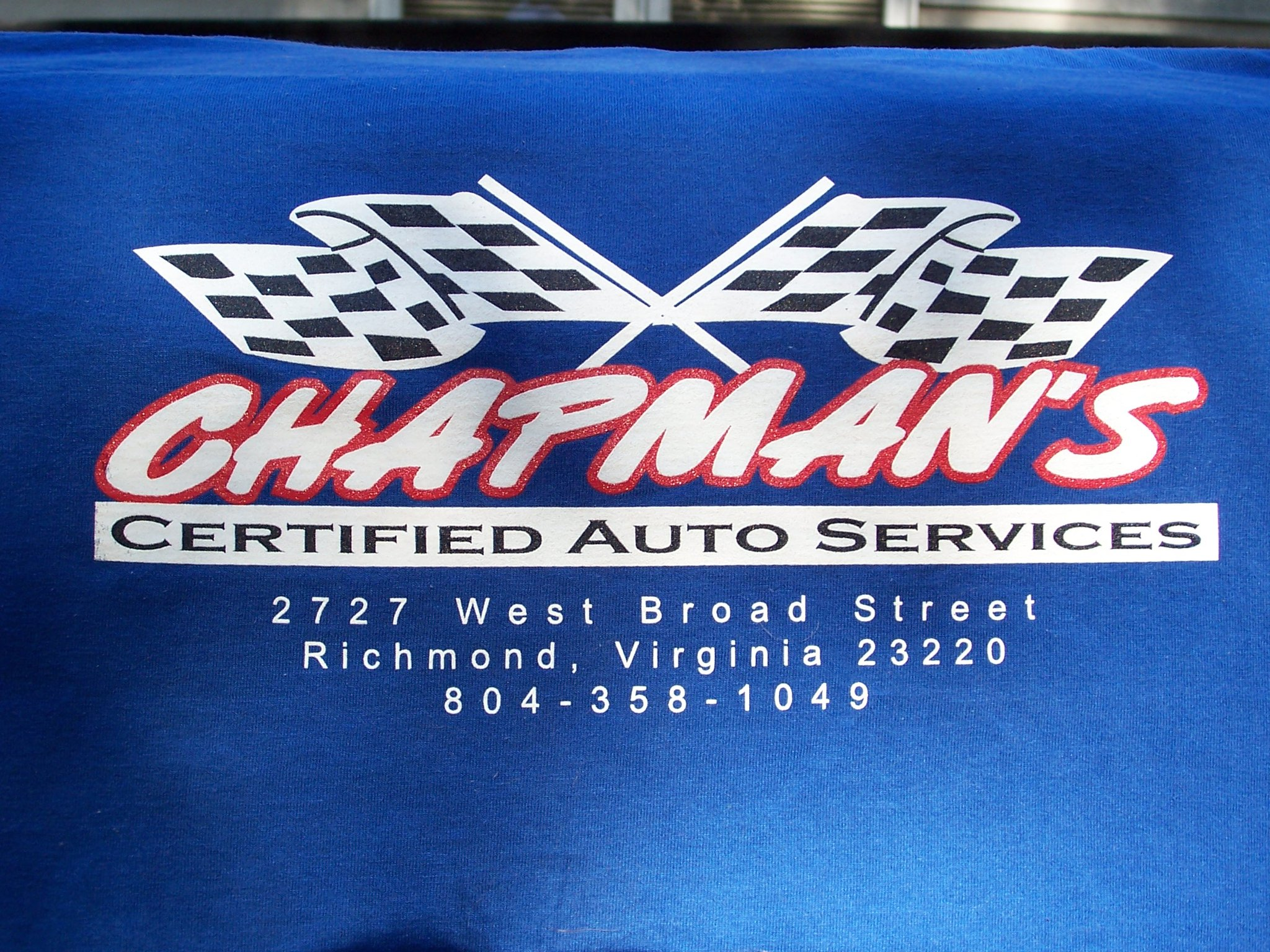 Virginia's Top Rated Local® Auto Shops Award Winner: Chapman's Certified Auto Service, LLC