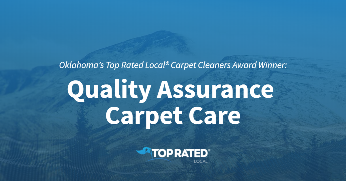 Oklahoma's Top Rated Local® Carpet Cleaners Award Winner: Quality Assurance Carpet Care
