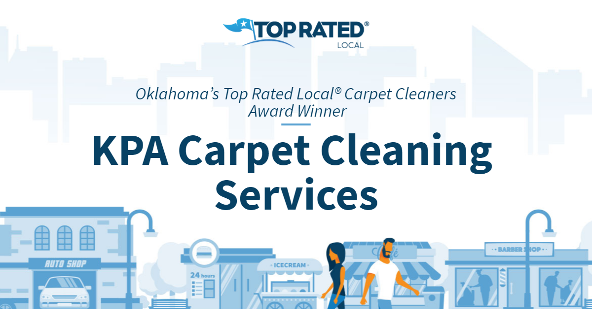Oklahoma's Top Rated Local® Carpet Cleaners Award Winner: KPA Carpet Cleaning Services
