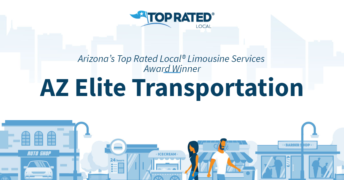 Arizona's Top Rated Local® Limousine Services Award Winner: AZ Elite Transportation