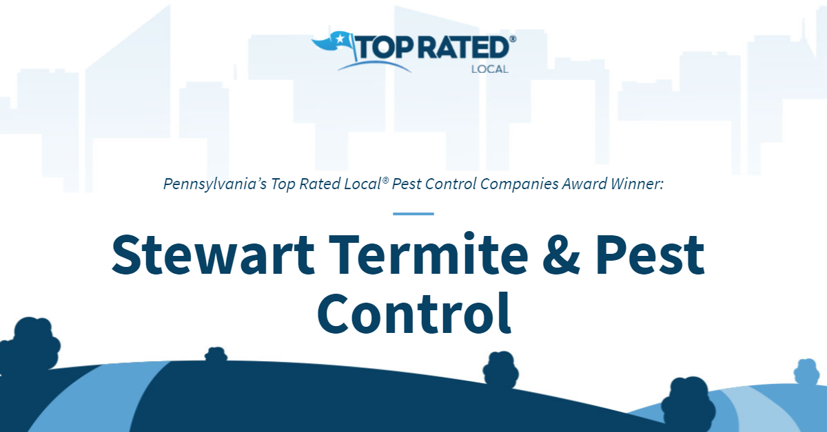 Pennsylvania's Top Rated Local® Pest Control Companies Award Winner: Stewart Termite & Pest Control