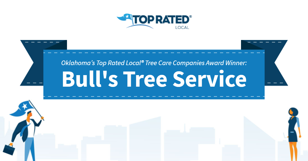 Oklahoma's Top Rated Local® Tree Care Companies Award Winner: Bull's Tree Service