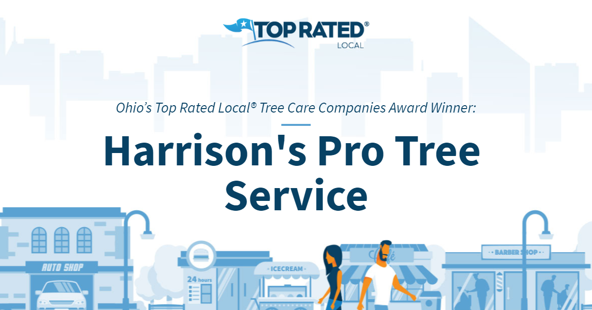 Ohio's Top Rated Local® Tree Care Companies Award Winner: Harrison's Pro Tree Service