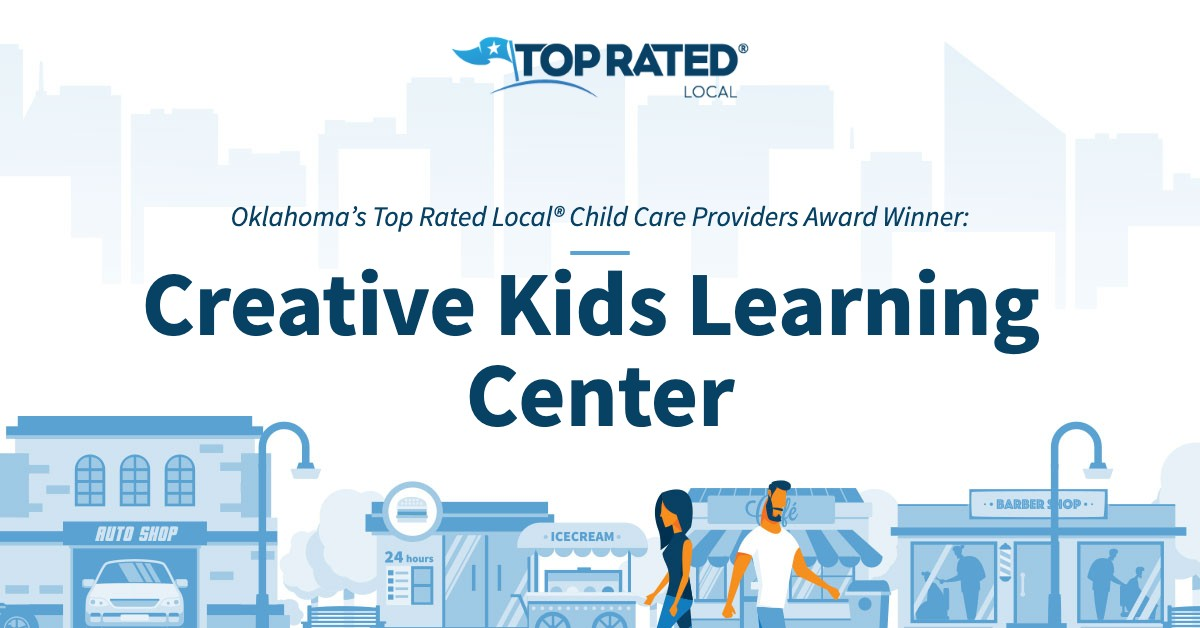 Oklahoma's Top Rated Local® Child Care Providers Award Winner: Creative Kids Learning Center