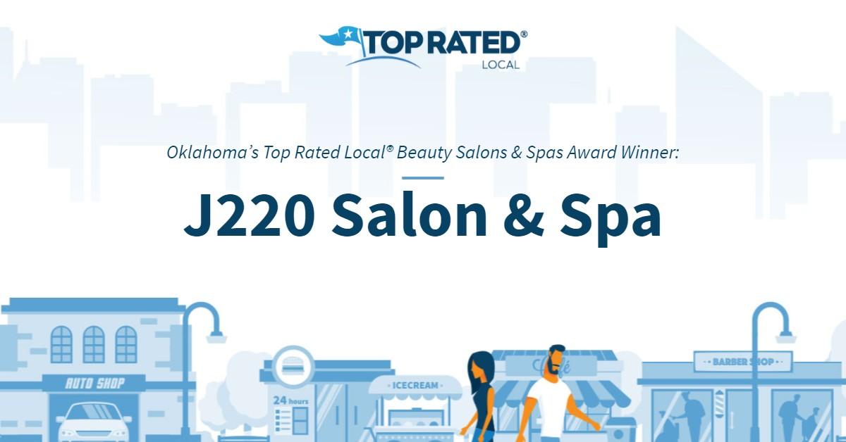 Oklahoma's Top Rated Local® Beauty Salons & Spas Award Winner: J220 Salon & Spa