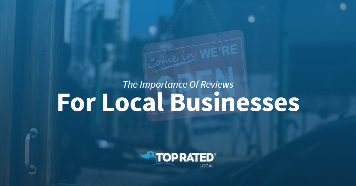 The Importance Of Reviews For Local Businesses