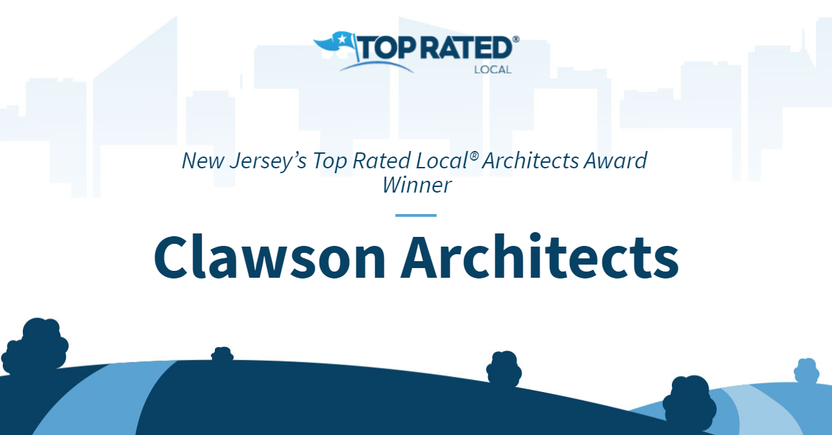 New Jersey's Top Rated Local® Architects Award Winner: Clawson Architects