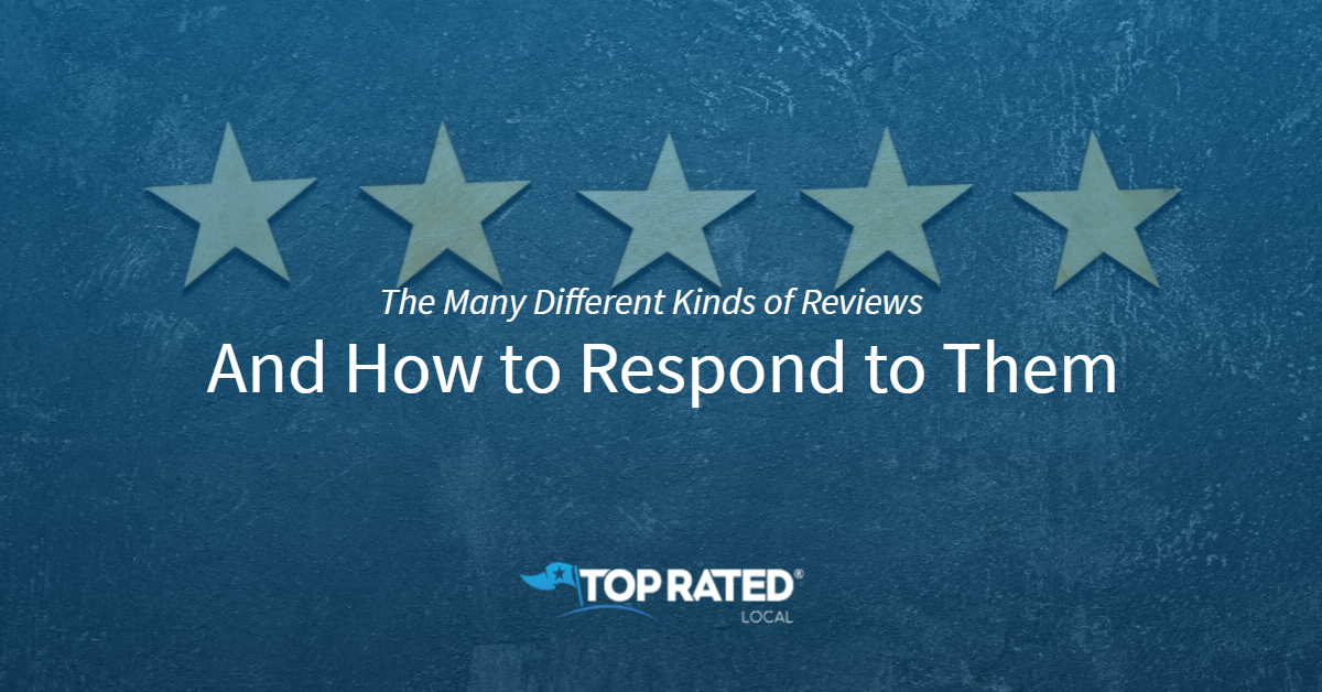 The Many Different Kinds of Reviews and How to Respond to Them