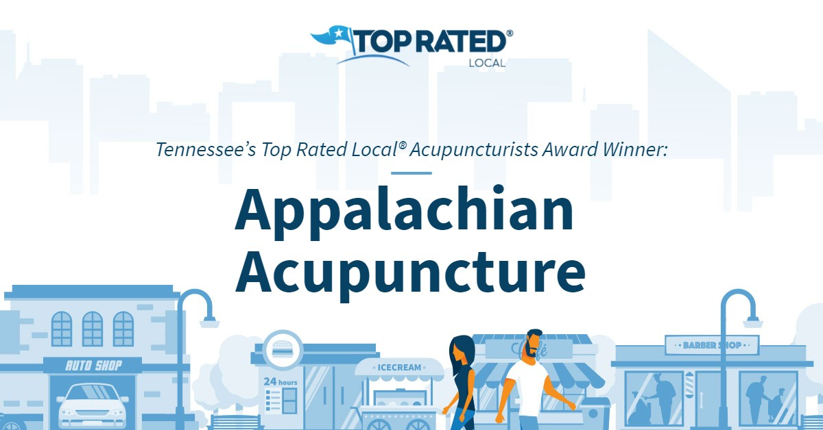Tennessee's Top Rated Local® Acupuncturists Award Winner: Appalachian Acupuncture