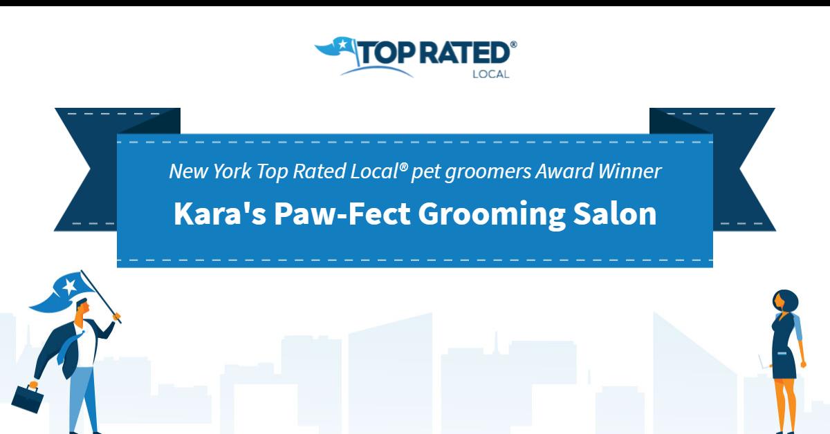New York's Top Rated Local® Pet Groomers Award Winner: Kara's Paw-Fect Grooming Salon
