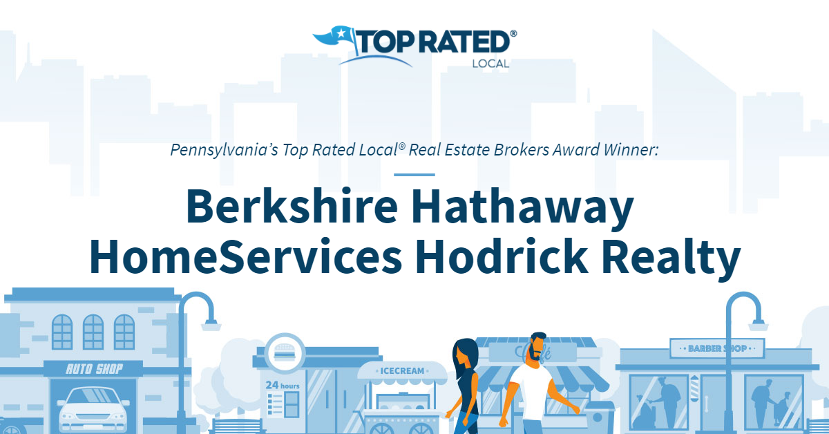 Pennsylvania's Top Rated Local® Real Estate Brokers Award Winner: Berkshire Hathaway HomeServices Hodrick Realty