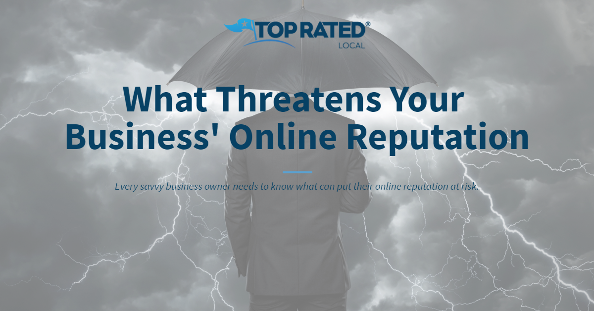 What Threatens Your Business' Online Reputation