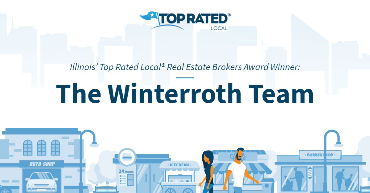Illinois' Top Rated Local® Real Estate Brokers Award Winner: The Winterroth Team