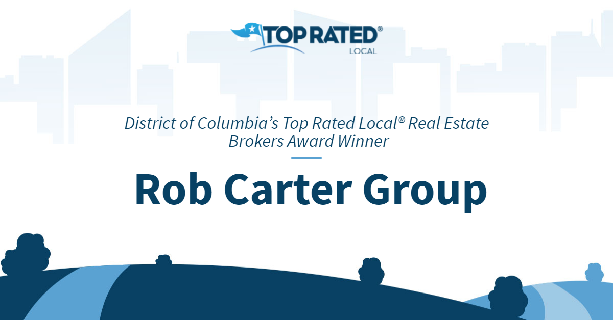 District of Columbia's Top Rated Local® Real Estate Brokers Award Winner: Rob Carter Group
