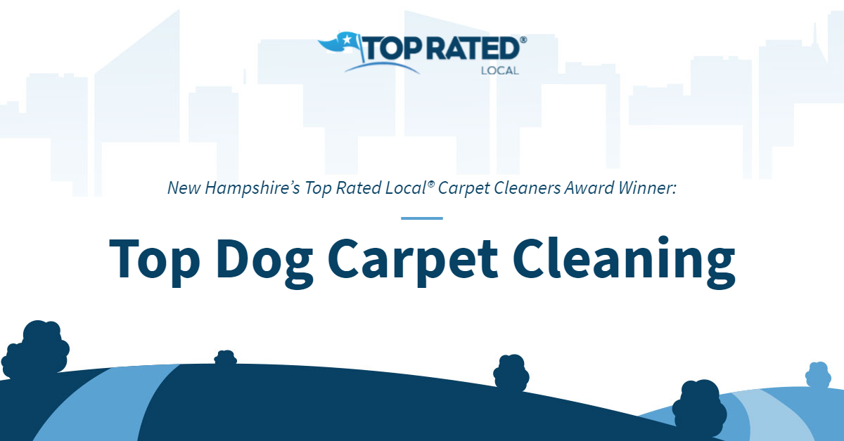New Hampshire's Top Rated Local® Carpet Cleaners Award Winner: Top Dog Carpet Cleaning