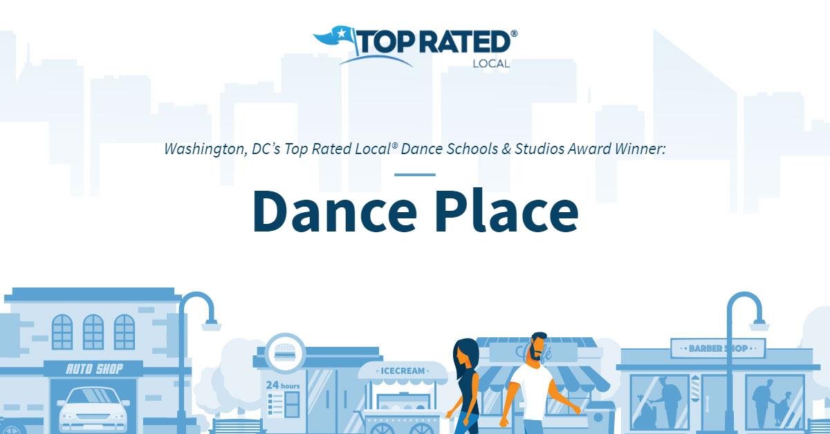 Washington, DC's Top Rated Local® Dance Schools & Studios Award Winner: Dance Place