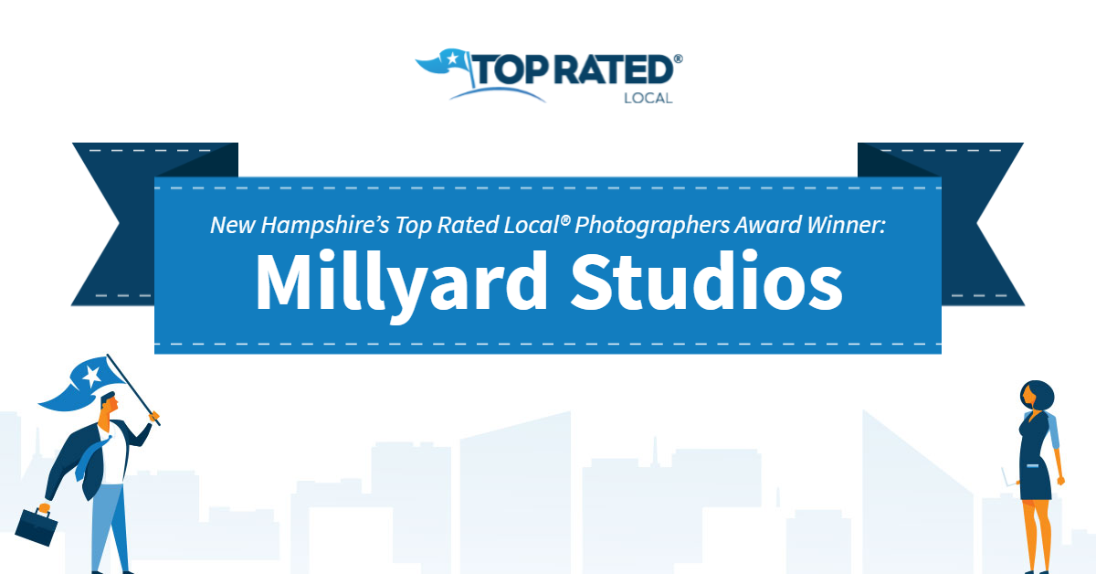 New Hampshire's Top Rated Local® Photographers Award Winner: Millyard Studios