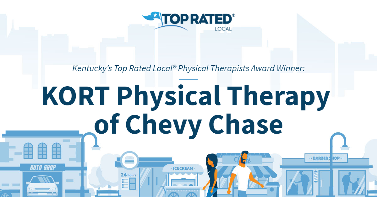Kentucky's Top Rated Local® Physical Therapists Award Winner: KORT Physical Therapy of Chevy Chase