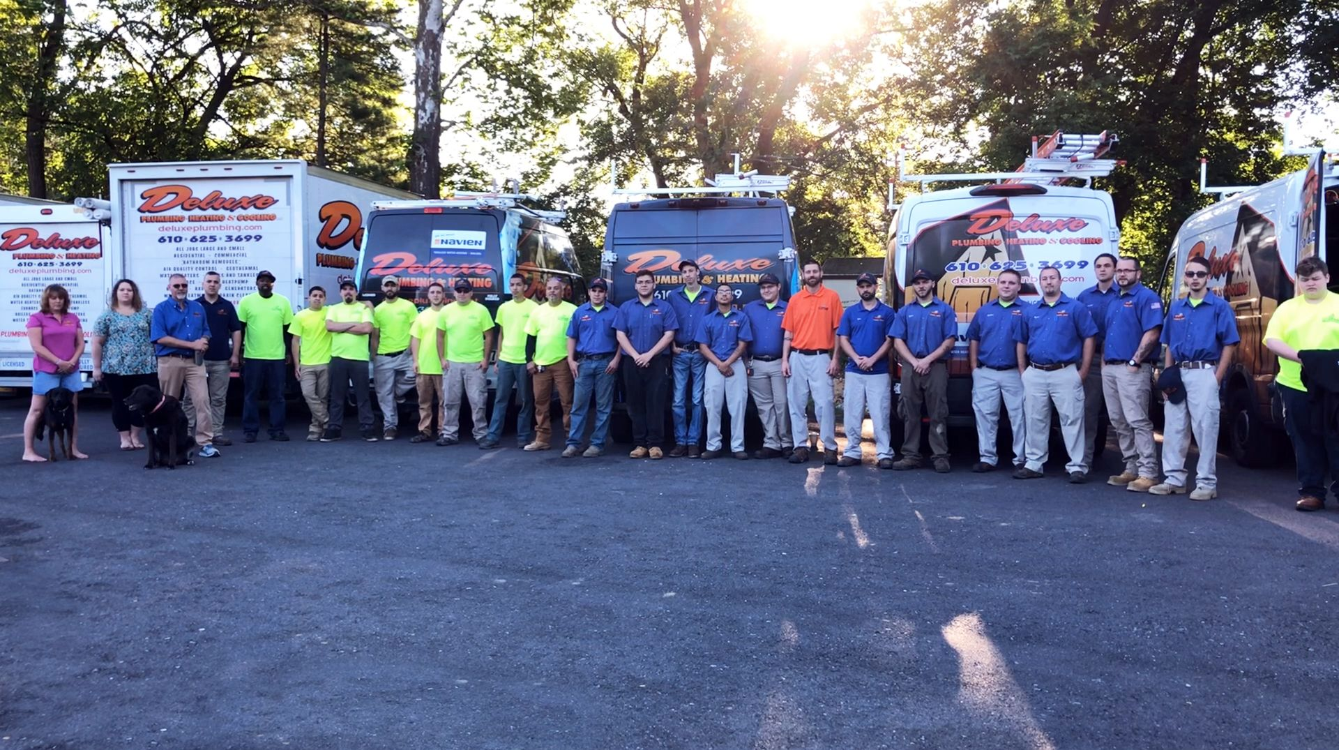 Pennsylvania's Top Rated Local® HVAC/Heating & AC Award Winner: Deluxe Plumbing & Heating