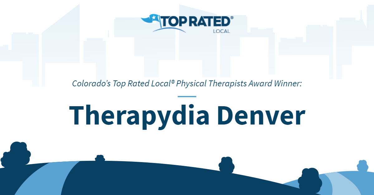 Colorado's Top Rated Local® Physical Therapists Award Winner: Therapydia Denver
