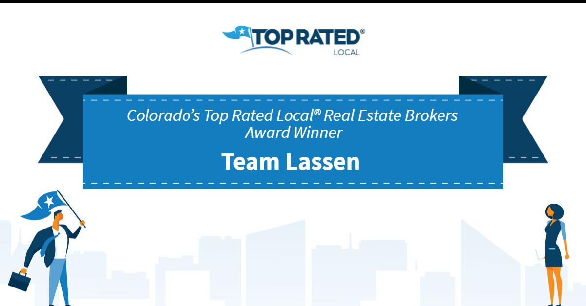 Colorado's Top Rated Local® Real Estate Brokers Award Winner: Team Lassen