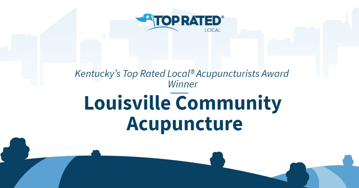 Kentucky's Top Rated Local® Acupuncturists Award Winner: Louisville Community Acupuncture